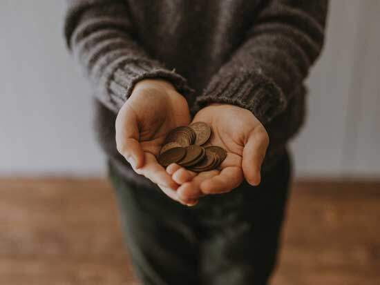Giving money as Adventists believe in the practice of returning tithes & offerings, since God is the true owner of everything