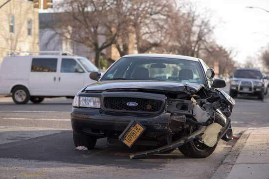 Car accident as we are reminded that violation of God's law or the 10 commandments, which is sin brings terrible consequences